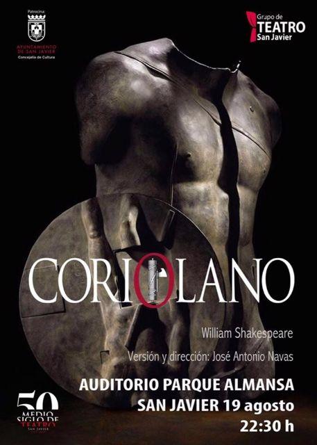 El Grupo de Teatro San Javier estrena Coriolano de Shakespeare con 50 personas en escena - 5, Foto 5