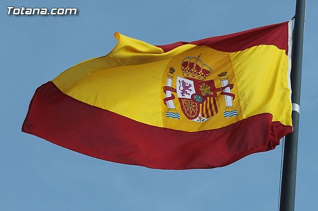 Totana The PP proposes to the full council holding on 12 October a ceremony in homage to the flag of Spain
