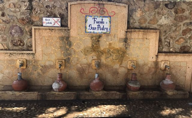 Restablecen el funcionamiento de la tradicional y emblemática Fuente de San Pedro, ubicada junto al Arco de Las Ollerías - 2, Foto 2