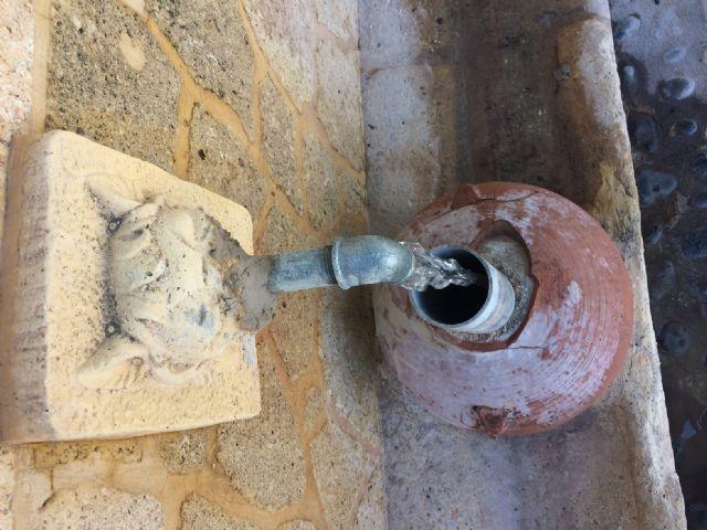 Restablecen el funcionamiento de la tradicional y emblemática Fuente de San Pedro, ubicada junto al Arco de Las Ollerías - 5, Foto 5
