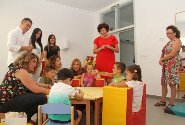 Puerto Lumbreras recibe una subvención de 89.000 para reforzar el servicio de atención temprana - 1, Foto 1