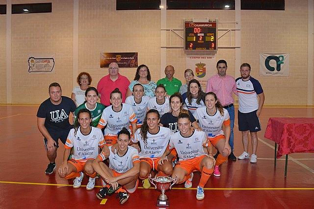 Las chicas del Universidad de Alicante se alzan con el III Jimbee Melón en Campos del Río - 2, Foto 2