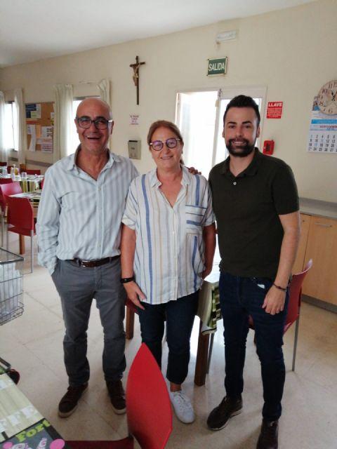 El concejal de Política Social estudia llevar a cabo una colaboración con la Fundación Santa Teresa, Foto 1