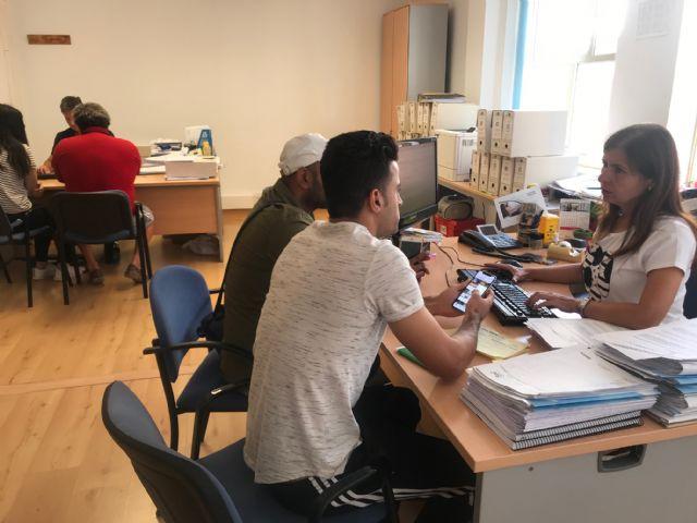 La Oficina de Atención y Apoyo a los Afectados por las inundaciones comienza su actividad en Torre Pacheco - 1, Foto 1