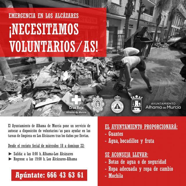 ¡Apúntate como voluntario/a para ayudar a los vecinos de Los Alcázares!, Foto 1