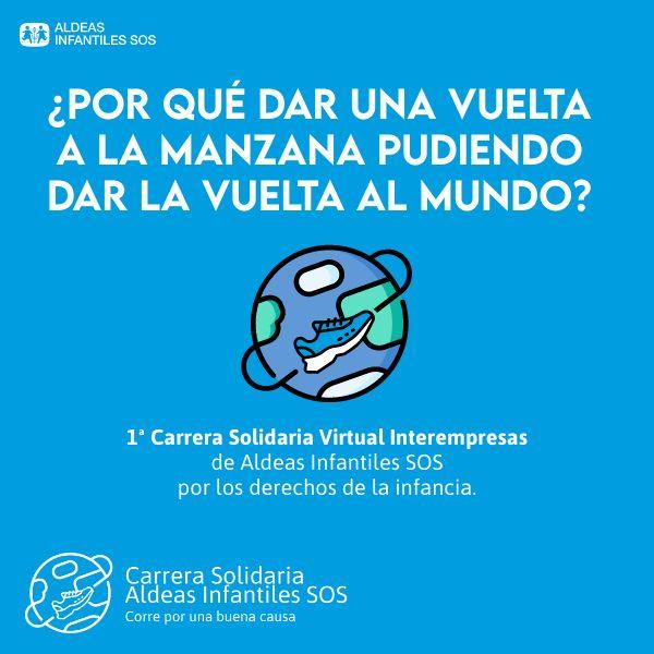 Carrera virtual Solidaria Interempresas de Aldeas Infantiles SOS: Abierto el plazo de inscripción - 1, Foto 1