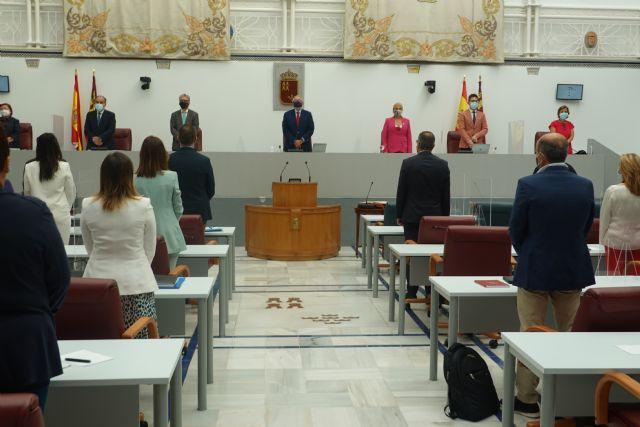 La Asamblea guardará un minuto de silencio por los fallecidos por la Covid-19 en todas sus reuniones - 1, Foto 1