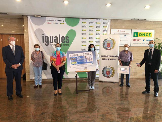 El cupón de la ONCE rinde homenaje a la profesión sanitaria con la celebración 2020 Año Internacional de Enfermeras y Matronas - 1, Foto 1