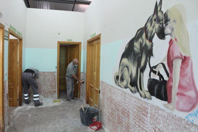 El Ayuntamiento lleva a cabo obras de mejora en el Albergue Municipal de Animales - 2, Foto 2