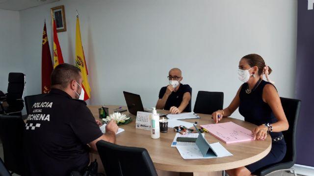 La Policía Local de Archena visita y controla a diario el total de viviendas con casos positivos de coronavirus - 2, Foto 2