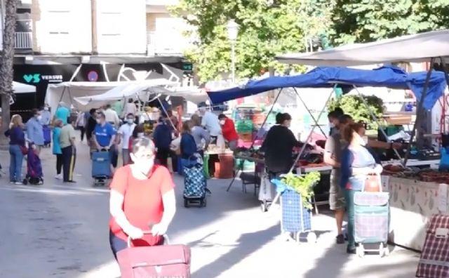 El Mercado Semanal del Parque de la Compañía de Molina de Segura no se adelanta este año al viernes y se mantiene el sábado 19 de septiembre - 1, Foto 1