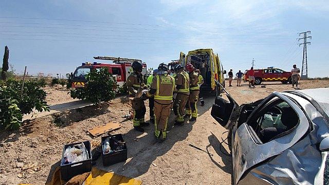 Accidente de tráfico ocurrido en las Torres de Cotillas - 1, Foto 1