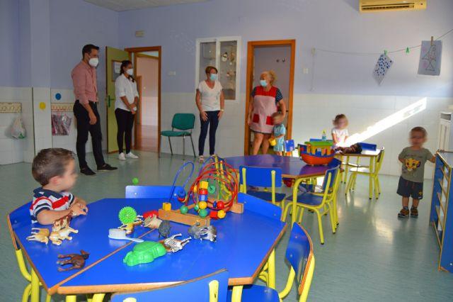 112 menores comienzan el curso en las escuelas infantiles municipales de Las Torres de Cotillas - 1, Foto 1