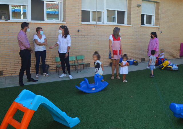 112 menores comienzan el curso en las escuelas infantiles municipales de Las Torres de Cotillas - 3, Foto 3