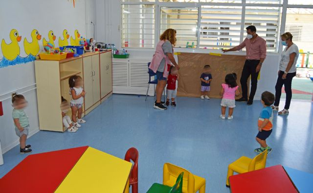 112 menores comienzan el curso en las escuelas infantiles municipales de Las Torres de Cotillas - 4, Foto 4