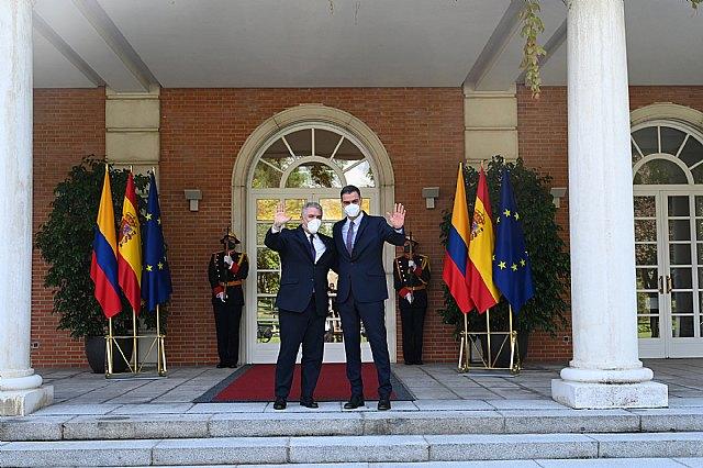 Sánchez y Duque acuerdan reforzar la cooperación económica y política entre España y Colombia - 2, Foto 2