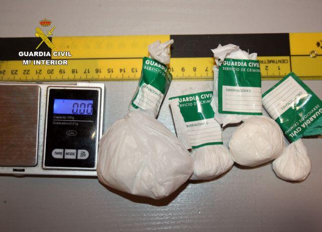 La Guardia Civil desmantela un activo punto de venta de droga en Ceutí - 1, Foto 1