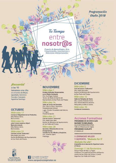 Entre Nosotras vuelve con charlas y talleres de nutrición, desarrollo personal y consumo responsable - 2, Foto 2