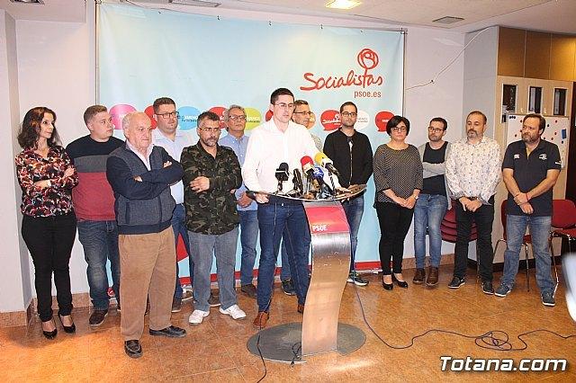 Víctor Balsas presenta su precandidatura a las primarias del PSOE - 1, Foto 1