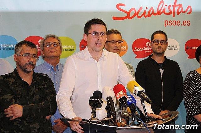 Víctor Balsas presenta su precandidatura a las primarias del PSOE - 2, Foto 2