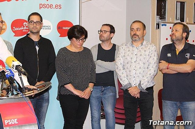 Víctor Balsas presenta su precandidatura a las primarias del PSOE - 4, Foto 4