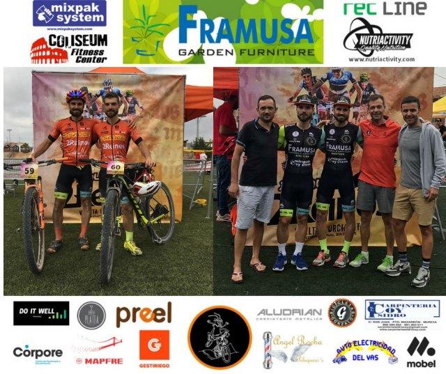 Victoria del Framusa Saltamontes en la 2 Reinos MTB Race en categoría parejas - 2, Foto 2