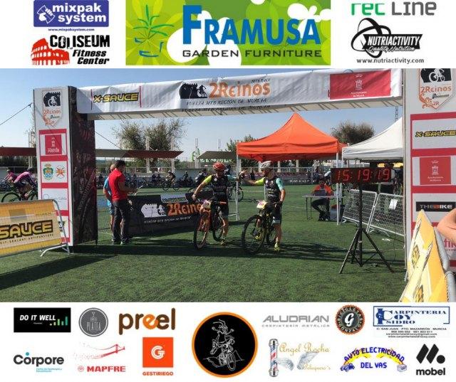 Victoria del Framusa Saltamontes en la 2 Reinos MTB Race en categoría parejas - 3, Foto 3