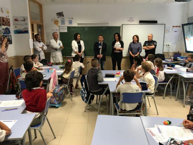 Inicio del Curso de Educación Vial en Torre Pacheco, en el que participarán más de 2200 alumnos de 98 grupos de 3º a 6º de primaria de centros del municipio de Torre Pacheco - 2, Foto 2