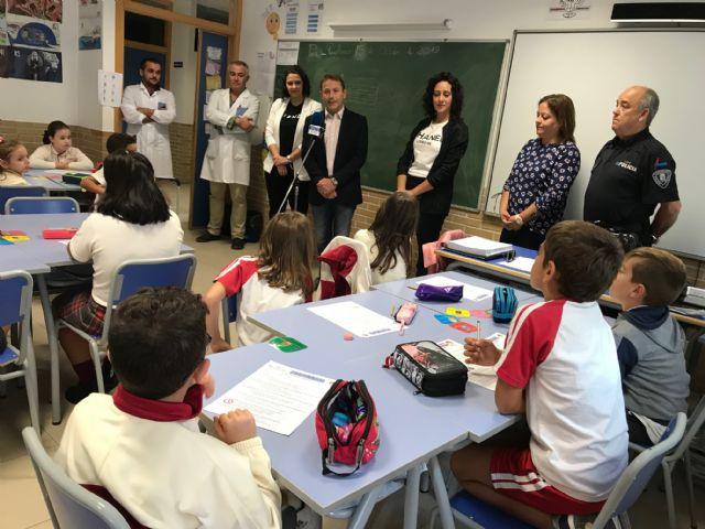 Inicio del Curso de Educación Vial en Torre Pacheco, en el que participarán más de 2200 alumnos de 98 grupos de 3º a 6º de primaria de centros del municipio de Torre Pacheco - 3, Foto 3