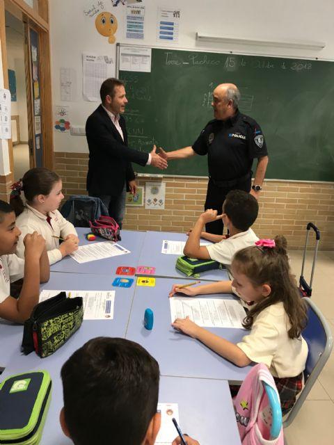 Inicio del Curso de Educación Vial en Torre Pacheco, en el que participarán más de 2200 alumnos de 98 grupos de 3º a 6º de primaria de centros del municipio de Torre Pacheco - 5, Foto 5