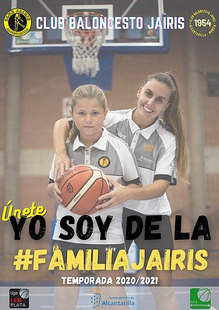 El Club Baloncesto Jairis lanza la campaña Yo soy de la #FamiliaJairis junto al comercio local de Alcantarilla - 1, Foto 1