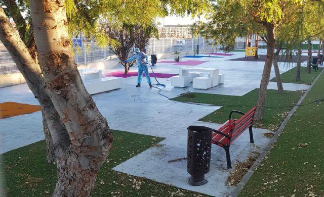 El Ayuntamiento de Lorquí abre los parques y jardines - 1, Foto 1
