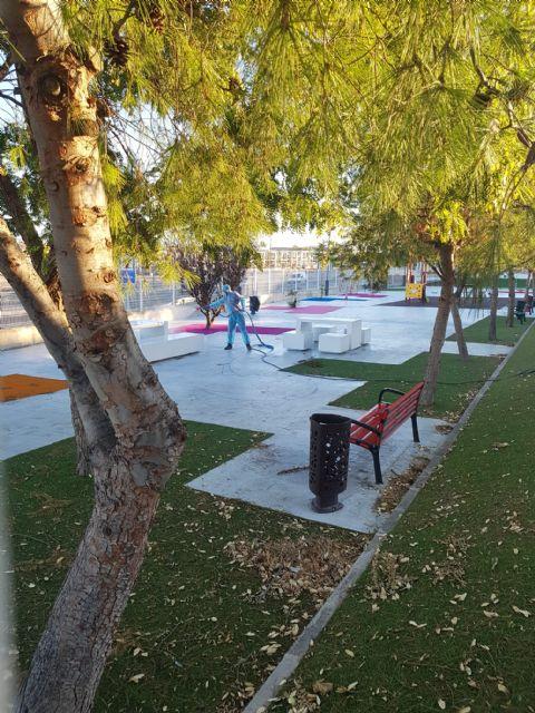 El Ayuntamiento de Lorquí abre los parques y jardines - 3, Foto 3