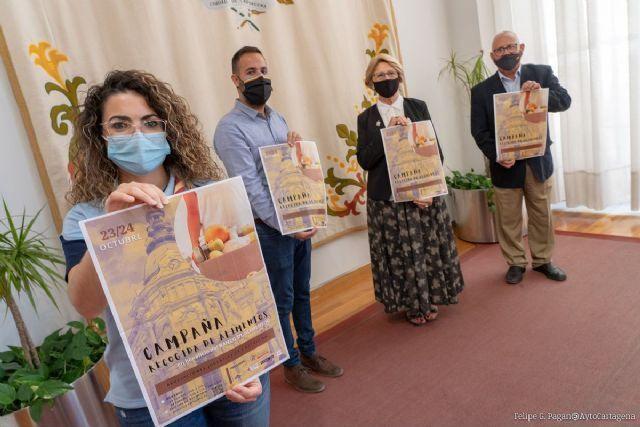 Juventud y Servicios Sociales organizan una Campaña de Recogida de Alimentos para los colectivos más necesitados de Cartagena - 1, Foto 1