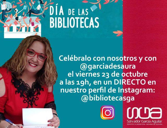 La Red Municipal de Bibliotecas de Molina de Segura celebra su Semana Cultural del 19 al 24 de octubre con motivo del Día Internacional de la Biblioteca, #DíaDeLasBibliotecas #SiempreAtuLado - 2, Foto 2