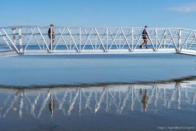 Balnearios y pasarelas mejorarán el baño en diez puntos del Mar Menor - 1, Foto 1