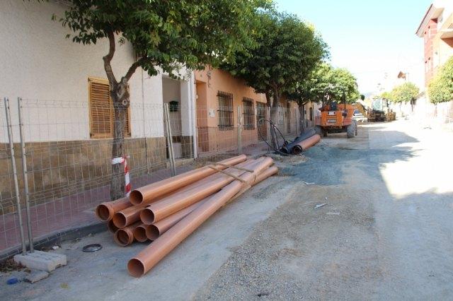 La calle Virgen de los Dolores, en obras para la sustitución de sus viejas redes, Foto 2