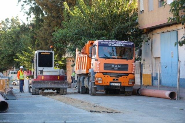 Obras de emergencia de renovación de redes en la avenida Ginés Campos, Foto 2