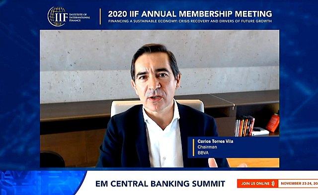 """Carlos Torres Vila: """"Los bancos pueden jugar un papel clave a la hora de canalizar y amplificar los fondos públicos europeos"""" - 1, Foto 1"""