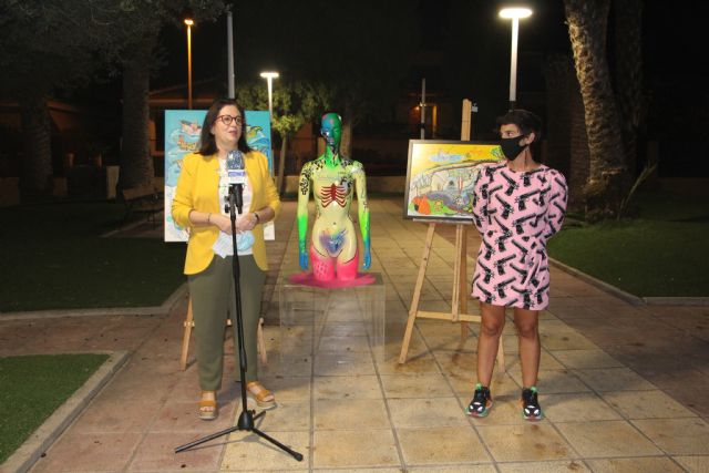 Laura Delgado expone en el Espacio de Arte de la Casa de Cultura de San Pedro del Pinatar - 1, Foto 1