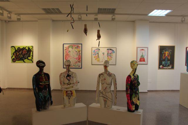 Laura Delgado expone en el Espacio de Arte de la Casa de Cultura de San Pedro del Pinatar - 2, Foto 2