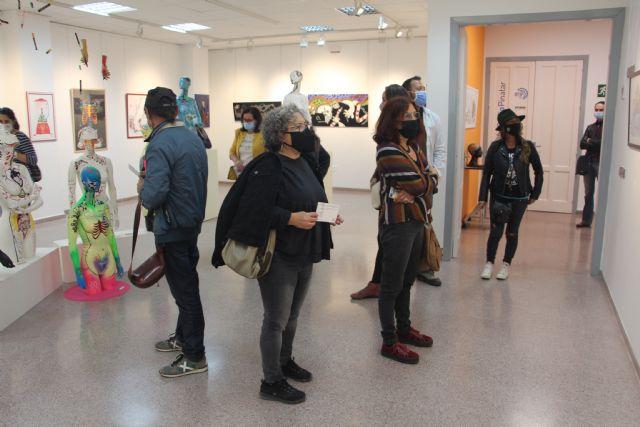 Laura Delgado expone en el Espacio de Arte de la Casa de Cultura de San Pedro del Pinatar - 3, Foto 3