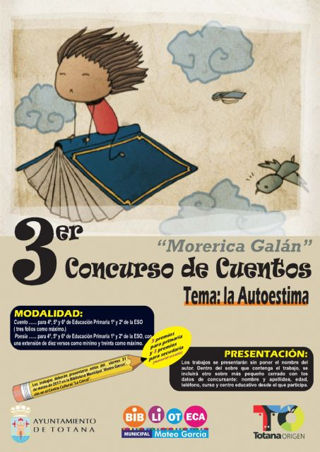 "The Department of Culture promotes the Third Story Contest ""Morerica Galán"""