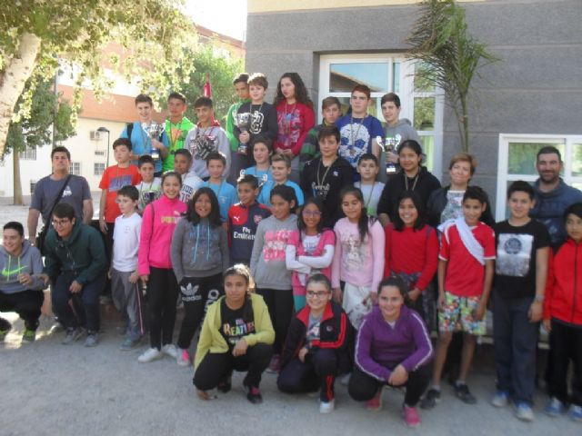 The Local Phase of Petanca of School Sports had the participation of 82 schoolchildren from the different schools of Totana