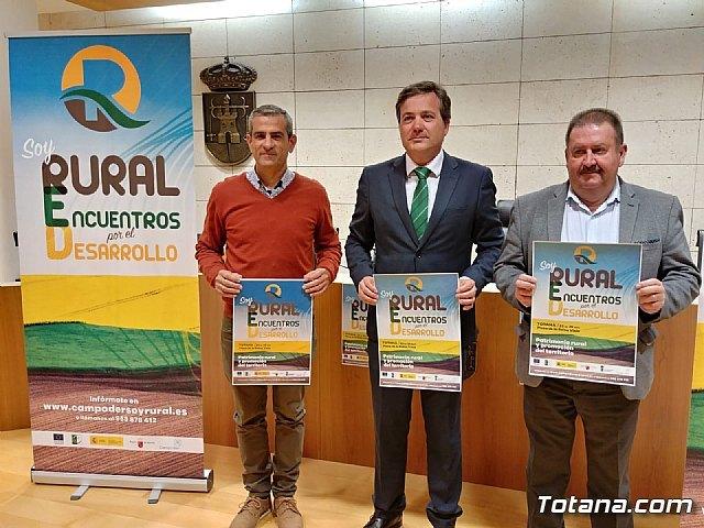 """Totana acoge del 23 al 25 de noviembre la iniciativa """"RURAL: Encuentros por el desarrollo"""" dentro del """"Territorio Campoder"""", Foto 1"""