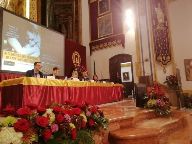 Municipal authorities attend the inauguration of the XI International Congress of Rare Diseases, Foto 3