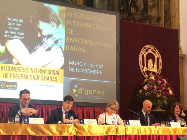 Municipal authorities attend the inauguration of the XI International Congress of Rare Diseases, Foto 6