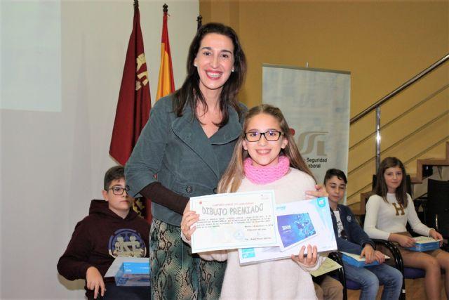 Una alumna del colegio Nuestra Señora de la Asunción es la ganadora de la fase regional del concurso Crece en Seguridad - 3, Foto 3