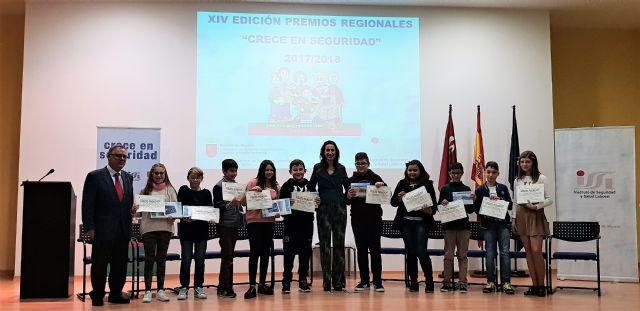 Una alumna del colegio Nuestra Señora de la Asunción es la ganadora de la fase regional del concurso Crece en Seguridad - 5, Foto 5