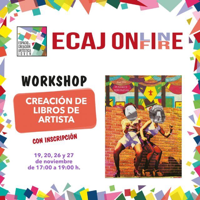 La Concejalía de Juventud de Molina de Segura inicia el jueves 19 de noviembre la formación Workshop: Creación de libros de artista - 1, Foto 1